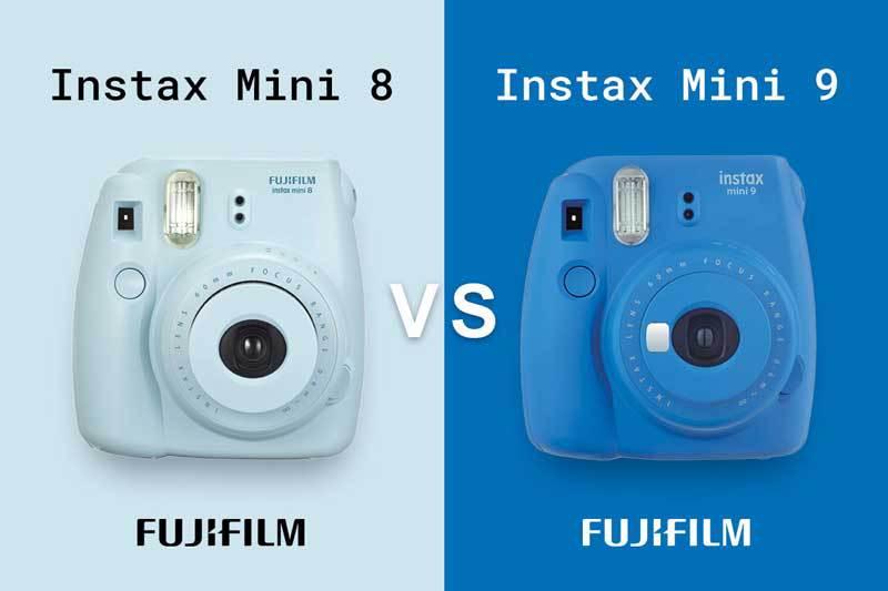 Confronto Fujifilm Instax Mini 8 e 9