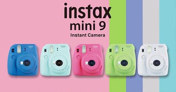 Fujifilm Instax Mini 9, colori