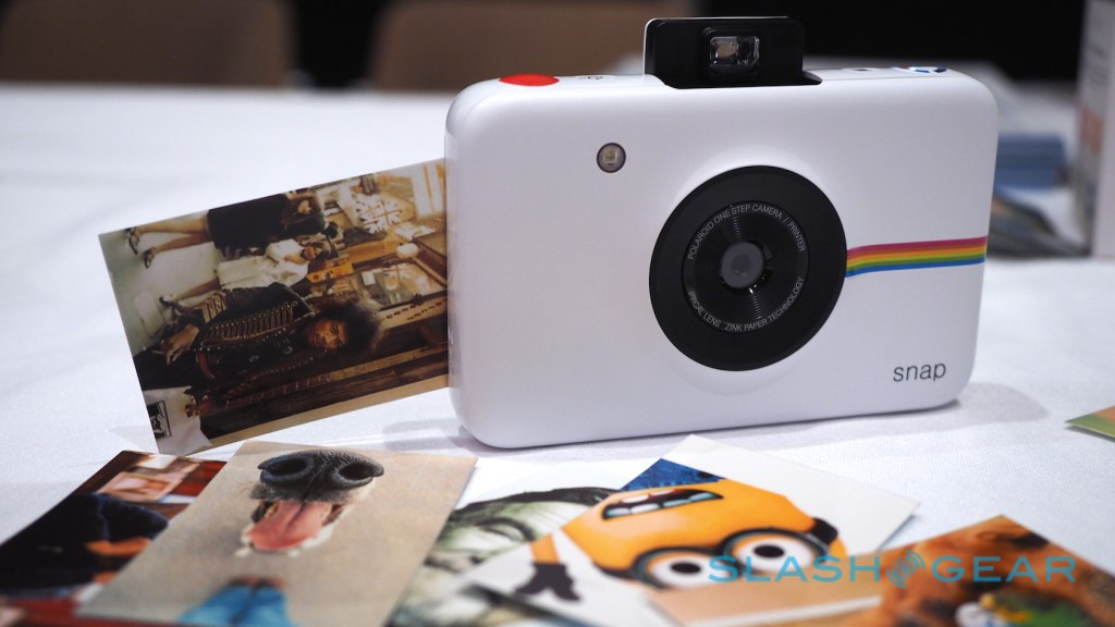 Polaroid Snap, stampa