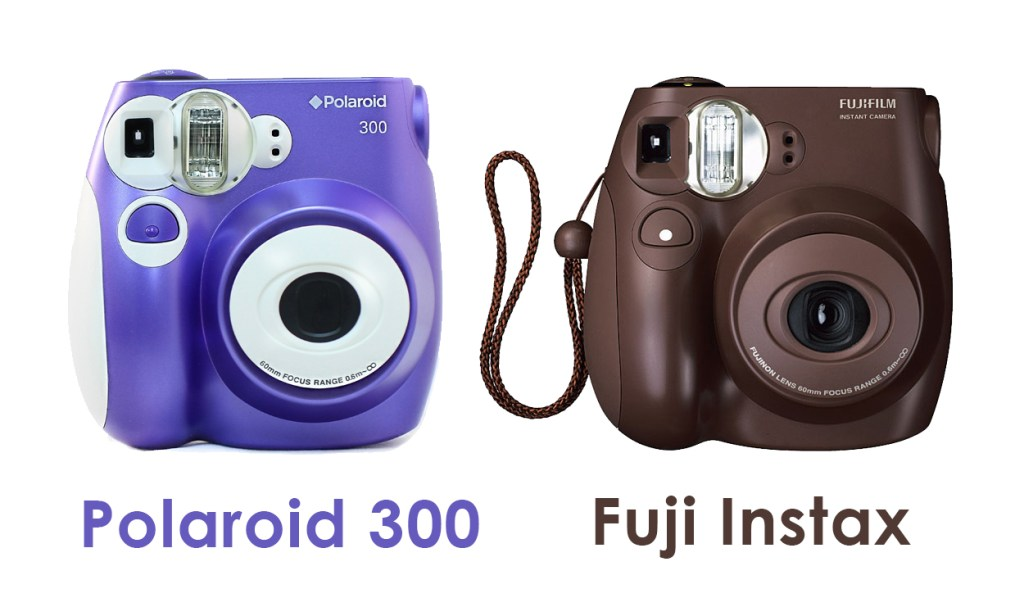 Polaroid Pic 300 vs Fuji Instax, differenze